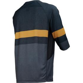 IXS Vibe 7.1 BC 3/4 Jersey Men black/saffron